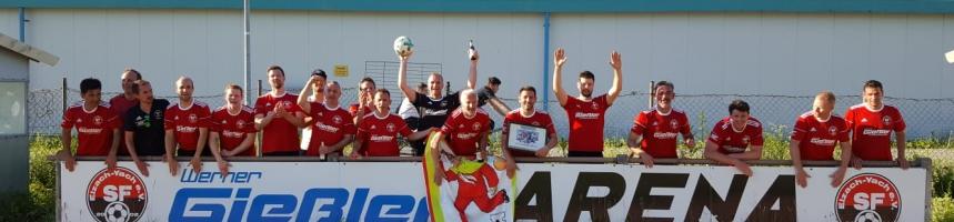 "Fussbal- Turnier der AH Mannschaften des ""Viererbunds"""